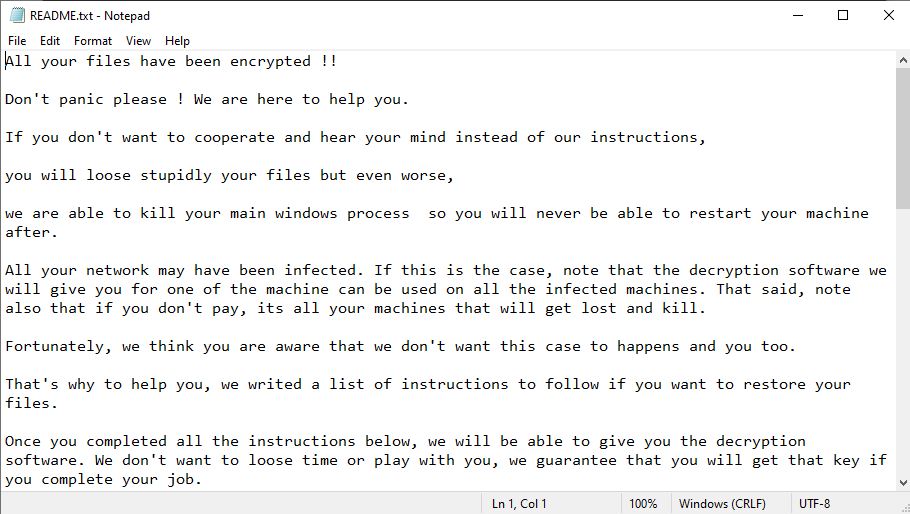 remove CRYPTEDPAY ransomware