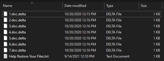 remove Delta Plus ransomware
