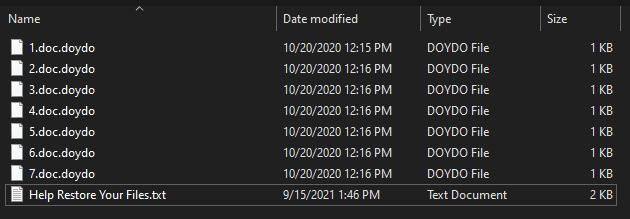 remove Doydo ransomware