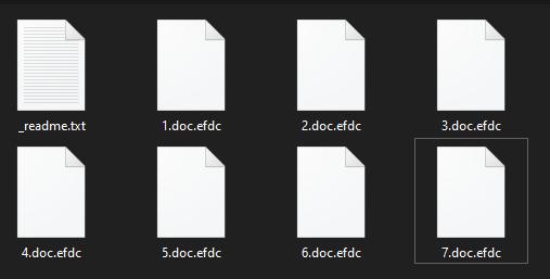 remove Efdc ransomware