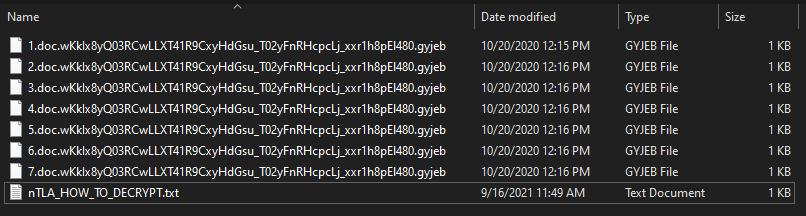 remove Gyjeb ransomware