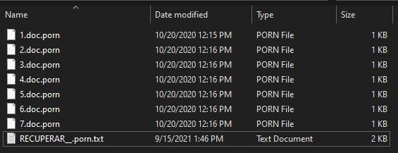 remove Porn ransomware