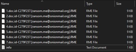 RME virus
