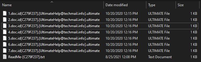 remove Artemis ransomware