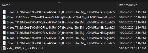 remove Gvh65 ransomware