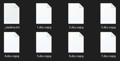 remove Nqsq ransomware