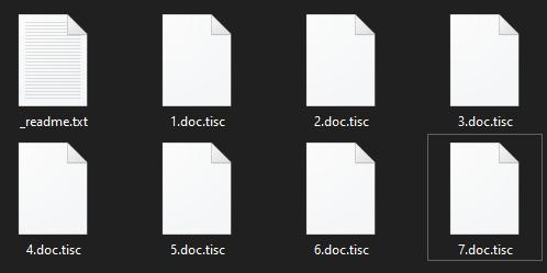remove Tisc ransomware